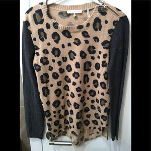 Rebecca Taylor wool/cashmere blend sweater size M